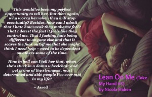 Lean on me teaser fits